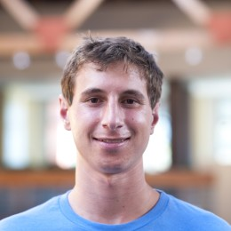"""""""Take advantage of all opportunities you can, and don't be afraid to try new things."""" — Jason Gilbert second-year biology"""