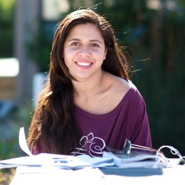 """""""SB is the best time of your life, so make it last."""" -Alyssa Garcia, fourth-year anthropology and political science"""