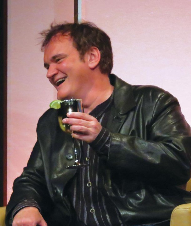 Quentin Tarantino speaking at the SBIFF 2013. Daily Nexus file photo