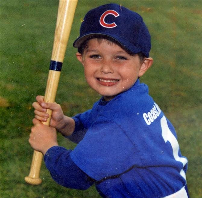 A photo of Chris Michael-Martinez as a child provided before the press conference.