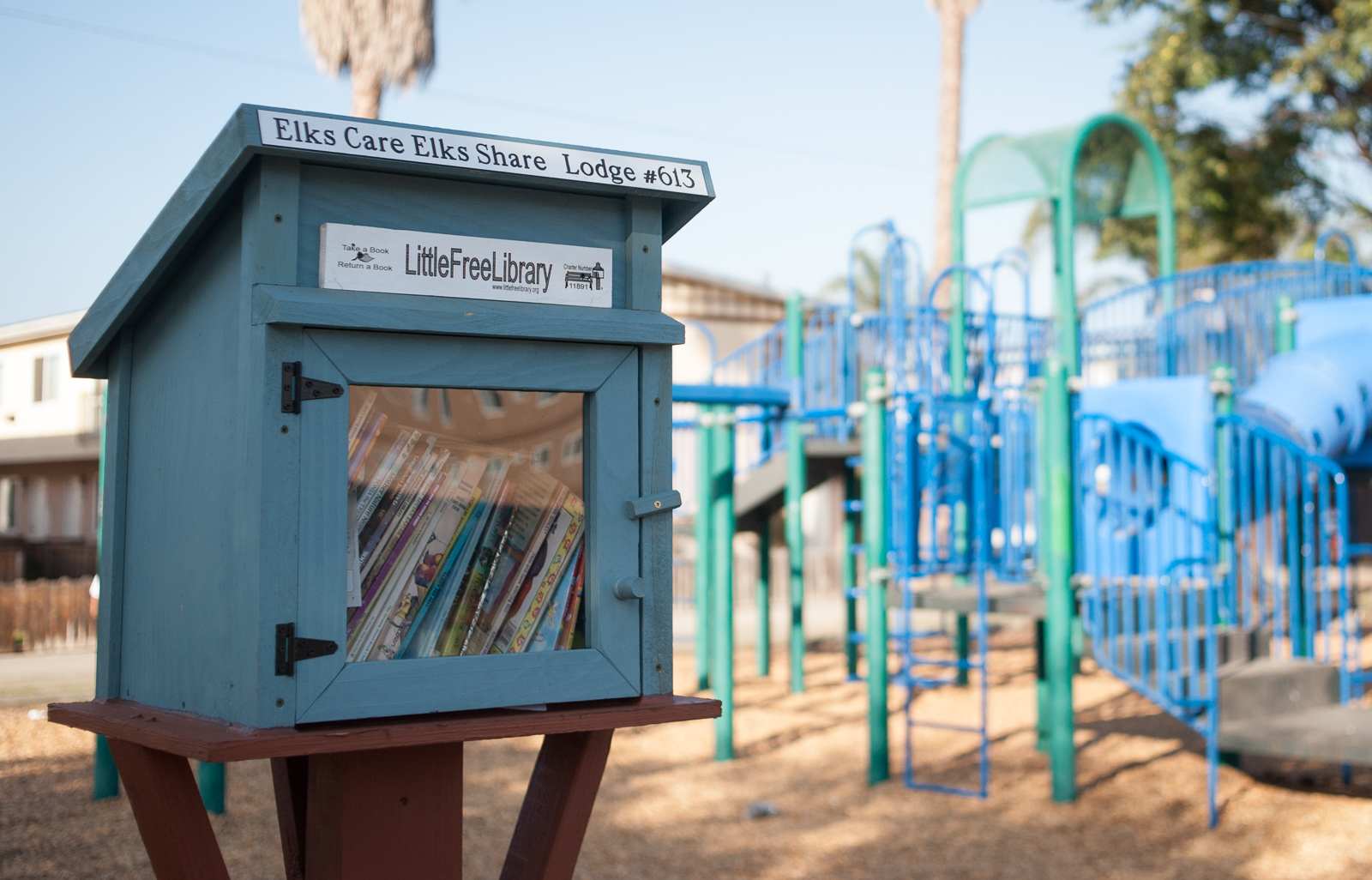 This Free Little Library recently opened in Isla Vista. Peter Mounteer/Daily Nexus