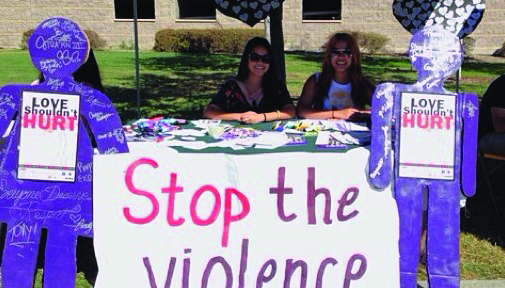 Sigma Alpha Zeta sorority hosts a series of events this week to empower peers to discuss the issue of domestic abuse.  Photo Courtesy of Sigma Alpha Zeta