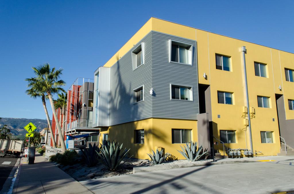 Campus 880 apartments, the original site for the Ambassador Program, will soon be host to a new scholarship program.   (Sam Aragon/Daily Nexus)