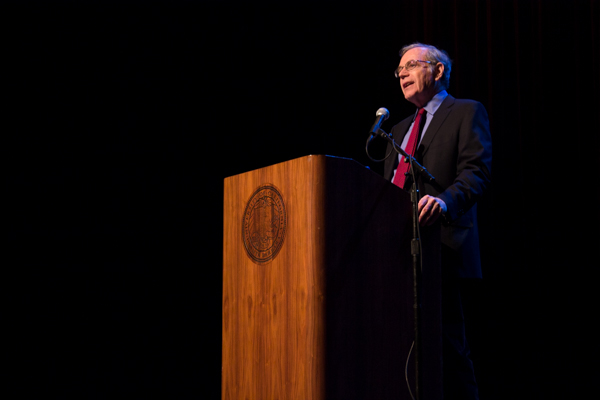 Historian Eric Foner lectures on the topic of his newest book, Alexander Payne/Daily Nexus