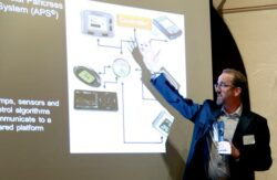 UCSB chemical engineers, Frank Doyle, discusses components of the sense and response technology: the glucose sensor and insulin pump.