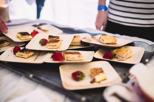 Julia Child's croque monsieur from the Santa Barbara Food and Wine Weekend. Christine Skari/Daily Nexus.