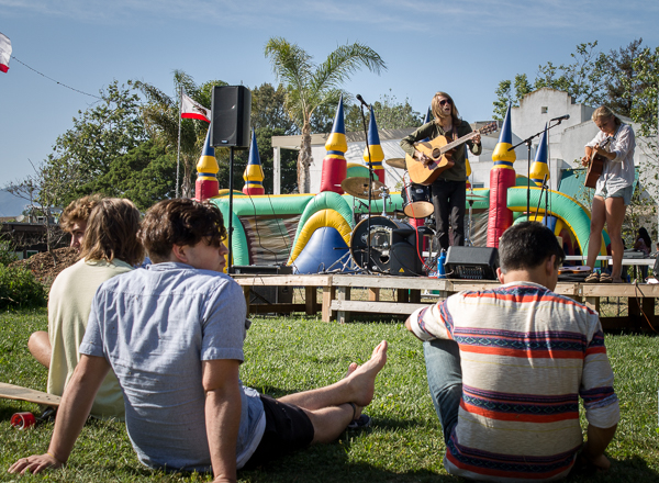 The Excursion Club hosted IV First Friday, with live performances by local Isla Vista bands. Alexander Payne/Daily Nexus