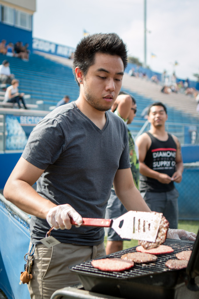 Student organizations prepared fresh food to sell at the event. Stephen Manga/Daily Nexus