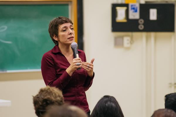 Professor Sherene Seikaly. Hari Patel/Daily Nexus