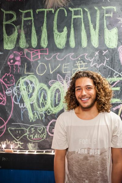 Chris Miehls, Pookie's frontman. Lorenzo Basilio/Daily Nexus