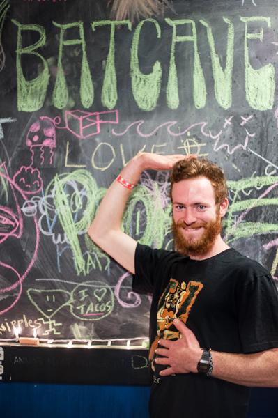 Chris Miehls, Pookie's guitar shredder. Lorenzo Basilio/Daily Nexus