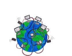 internet earth