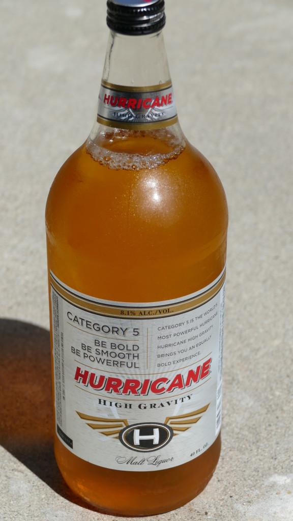 Hurricane bottle