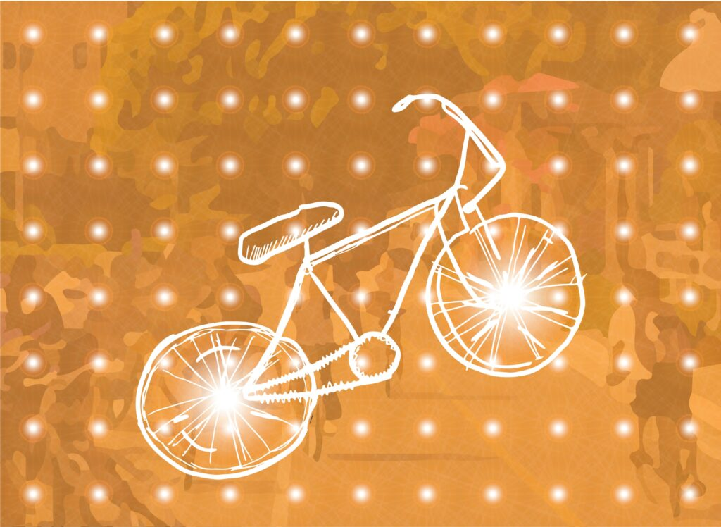 ASBC held the event to emphasize bike safety while biking through Isla Vista. Thousands of LED headlights were given out to attendees to promote rider visibility. Tarush Mohanti / Daily Nexus