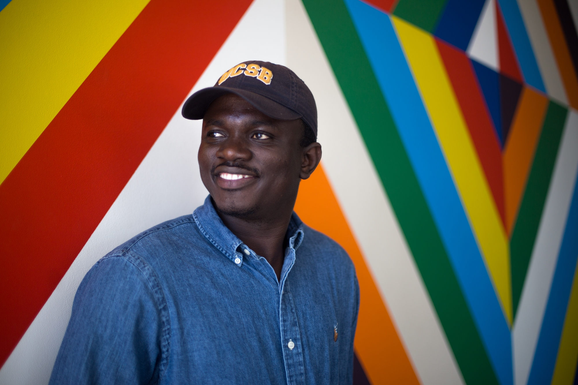 UCSB student Alagie Jammeh gains political asylum in the United States. Jenny Luo / Daily Nexus