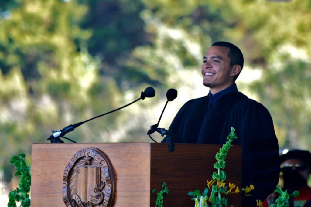 In his last year at UCSB, Monge served as A.S. president, a position that helped earn him the Student Regent nomination. As president, Monge played a role in establishing the A.S. Food Bank in the 2010-2011 school year. Courtesy of Associated Students
