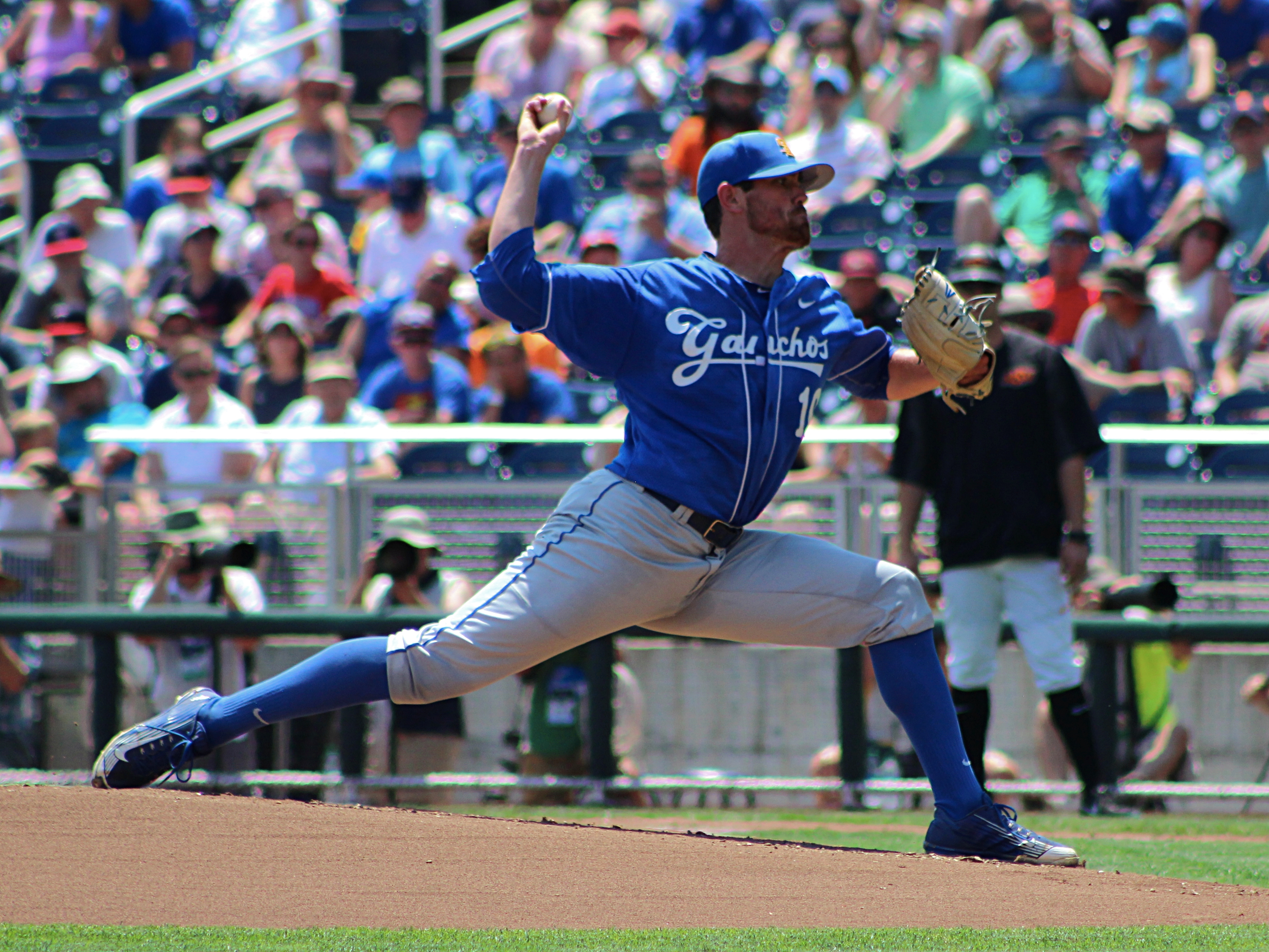 Junior Shane Bieber pitched a complete game allowing only six hits and one run is the Gauchos loss. O'Colly / Devin Wilber