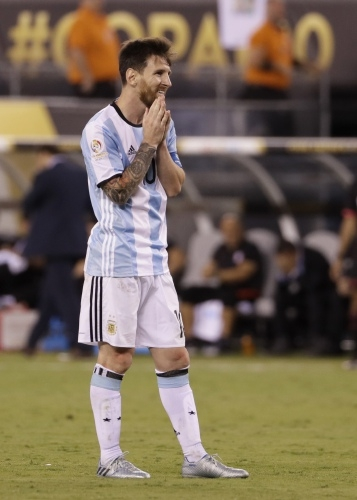 After losing in his fourth major final in nine years, Messi has decided to retire. AP Photo / Matt Slocum