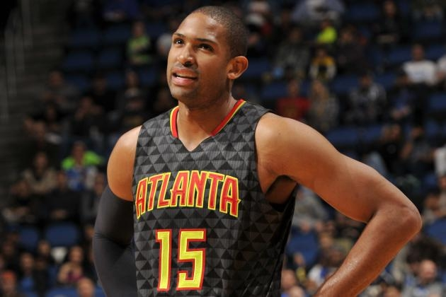 Al Horford started all 82 games last season for the Hawks averaging 15.2 points per game and 7.3 rebounds per game. Fernando Medina/Getty Images.