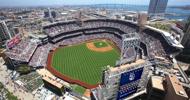 Petco Park, the home of the San Diego Padres who have two world series appearances, both losses, in team history. Photo Courtesy of sandiego.org.