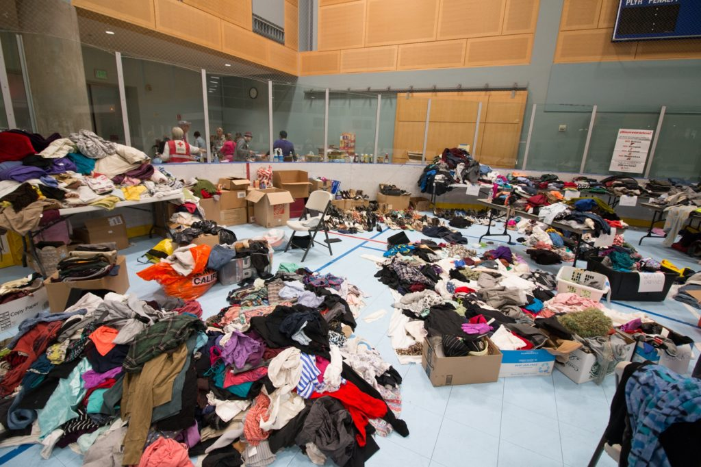 Thomas Fire Evacuees Hope To Return Home Soon Ucsb Evacuation Center Remains Open The Daily Nexus